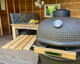 Alternatieven voor een Big Green Egg