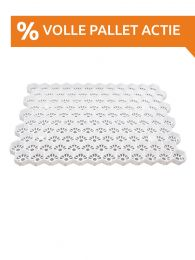 Easygravel®3XL grindstabilisatie wit volle pallet actie