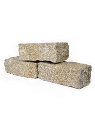 Muurblokken graniet geel