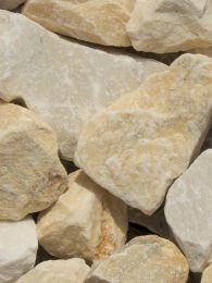 Rocalla Amarilla Mármol 40 - 60mm en seco