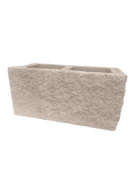 Bloque de esquina SPLIT crema 40x20x20cm