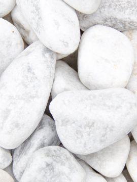 Carrara Kies Gabionensteine 40 - 80mm