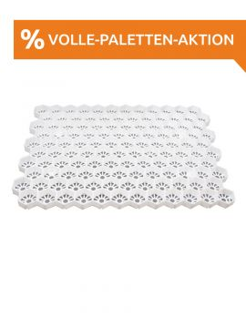 Easygravel®3XL Kiesgitter weiss volle Paletten Aktion