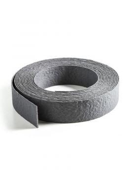 Ecolat aufgerollt grau 25m x 14cm x 0,7cm