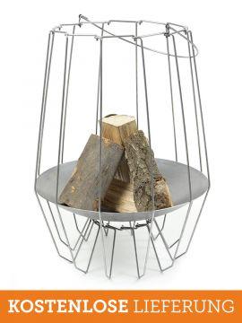 Mood&Fire Feuerschale HIGH gefüllt (Holz wird nicht mitgeliefert)