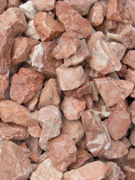 Grava Roja Mármol 12 - 20mm seca
