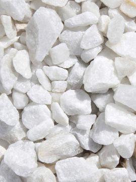 Marmolina / Grava Blanca 16 - 25mm seca