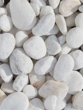 Marmor Kies weiß 16-25mm