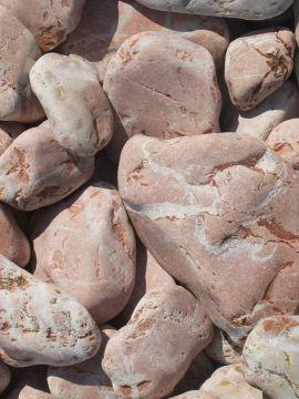 Marmor Rot Kies Gabionensteine 40-80mm