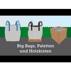 Fugensplitt Weiß Marmor 1m3 Big Bag 1500KG