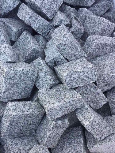 Adoquines granito gris 10x10x5cm