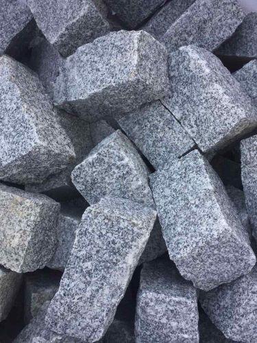 Adoquines granito gris 20x10x10