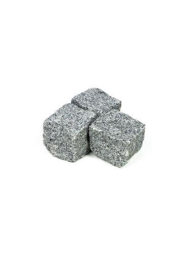 Adoquines granito gris 10x10x10