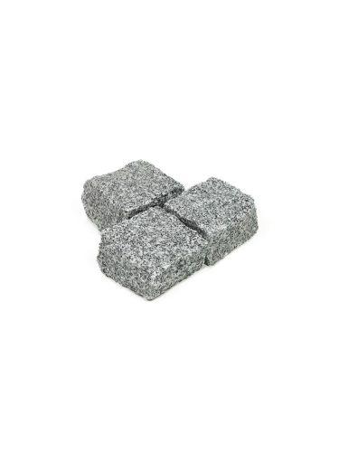 Adoquines granito gris 10x10x5