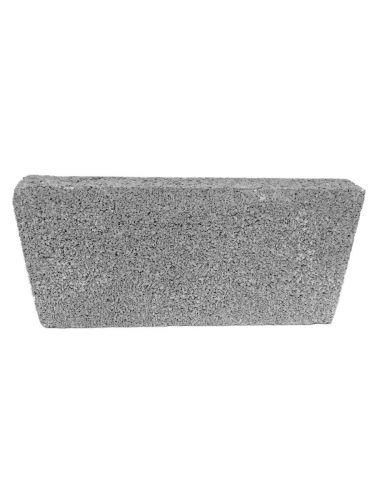 Plaqueta LISO gris 40x20x5cm