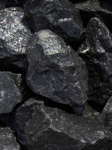 Basalt Bruchsteine 50-80mm naß