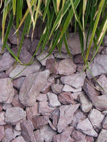 Canadian Slate Violett 30 - 60mm verlegt