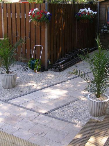 Castle grind 5 - 8mm aangelegde tuin