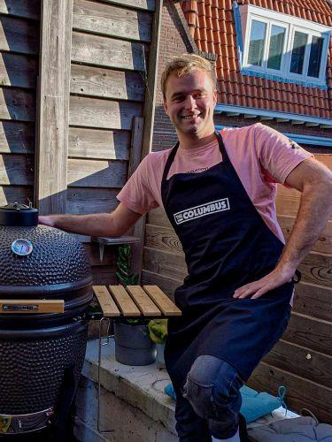 Q-Music DJ Tom van der Weerd is ook Columbus-fan!