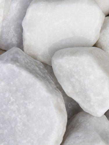 Crystal white breuksteen 40 - 80mm (nat)