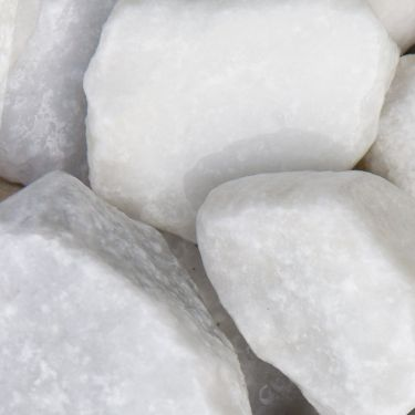 Crystal White breuksteen (40 - 80mm) (4 - 8cm) (nat)