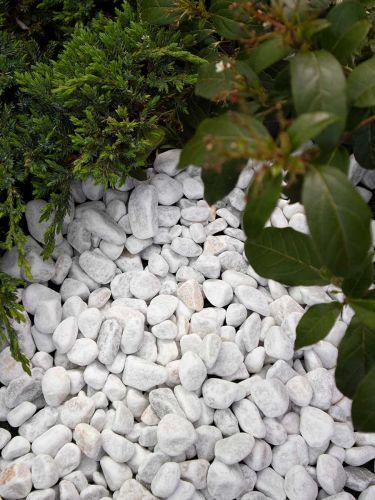 Crystal White grind 16 - 25mm aangelegd