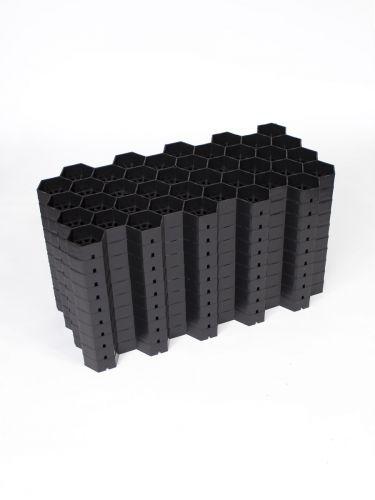 Kieswaben Easygravel® 3XL schwarz Paket