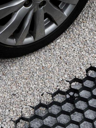 Geoceldas EuroGravel PLUS negro apto para coches