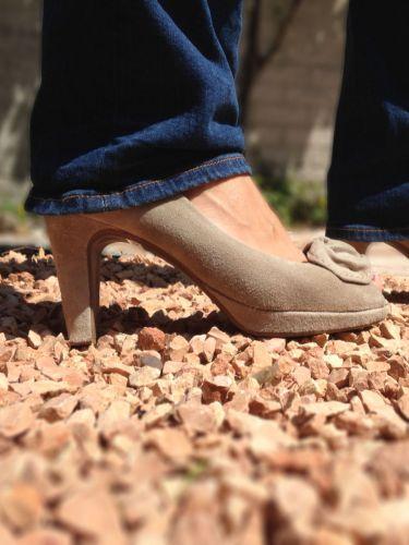 Fácil de caminar sobre las geoceldas Easygravel PRO , incluso con tacones