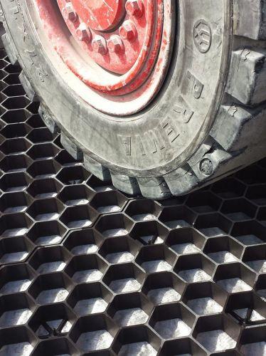 EuroGravel PRO grindmatten zwart is zeer drukvast