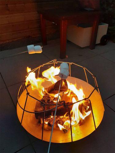Mood&Fire Feuerschale LOW 37cm Höhe