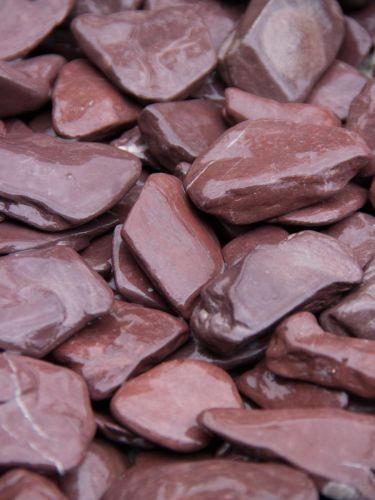 Flat Pebbles paars 30 - 60mm detail