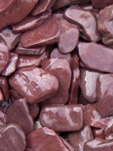 Flat Pebbles paars 30 - 60mm (nat)