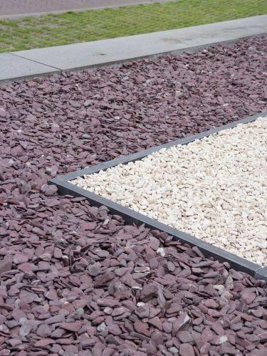 Flat Pebbles paars 30 - 60