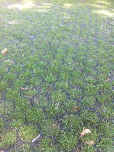 Grindmatten / Grasmatten groen in aanleg