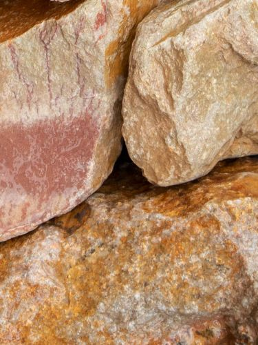 Grauwacke breuksteen 80 - 120mm (8 - 12cm) (nat)