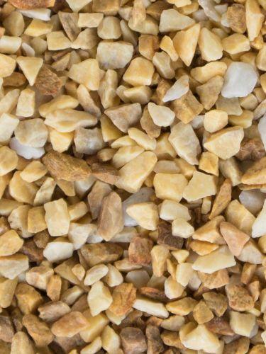Grava Amarilla Mármol 6 - 12mm mojada