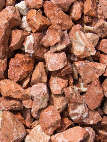 Grava roja mármol 12 - 20mm mojada