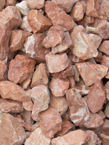 Grava roja mármol 12 - 20mm en seco