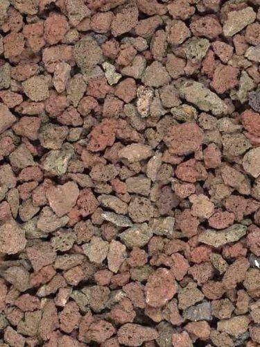 Grava Volcánica Marrón 6 - 12mm en seco