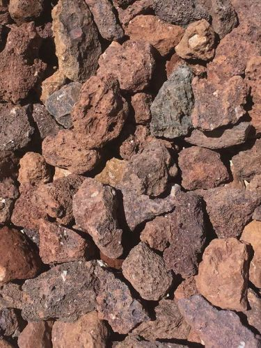 Grava Volcánica Marrón 25 - 40mm en seco