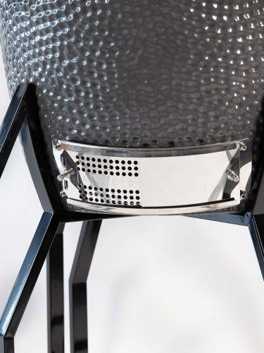 Grill Guru Classic Medium Grey Kamado 52cm untere Belüftungsöffnung