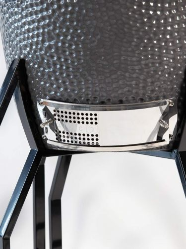 Grill Guru Classic Large Grey Kamado Model 2021 ventilatierooster onder