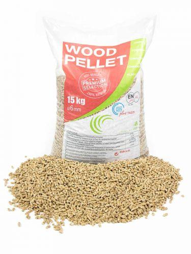 Houtpellets EN+A1 / DIN+ Biomasa