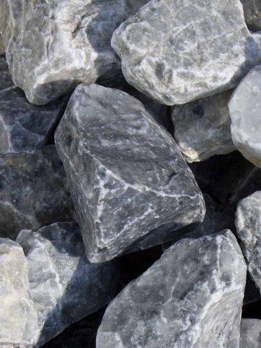 Ice Blue Bruchsteine 40 - 60mm (naß)