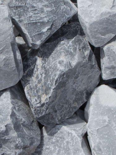 Ice Blue Bruchsteine 60 - 120mm naß