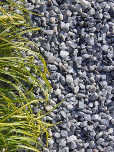Ice blue grind 8 - 16mm aangelegd