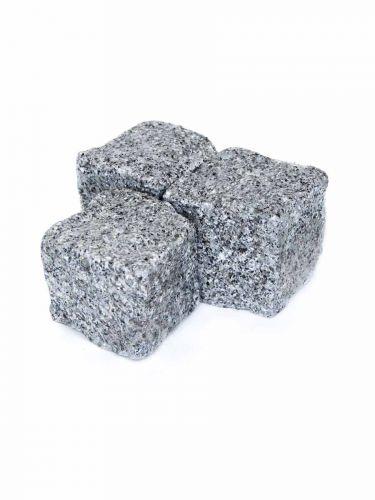 Kinderkoppen grijs graniet 8 - 10cm (nat)