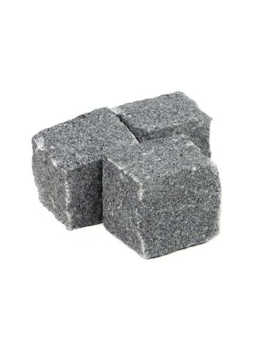 Kinderkoppen graniet antracietgrijs 8 - 10cm