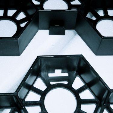 Klick-System Easygravel®3XL Kieswaben / Rasengitter schwarz
